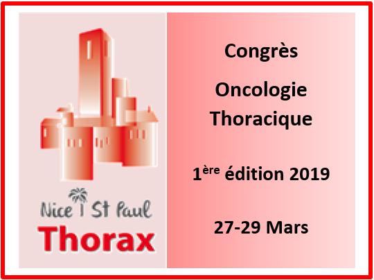 Congrès d'oncologie thoracique