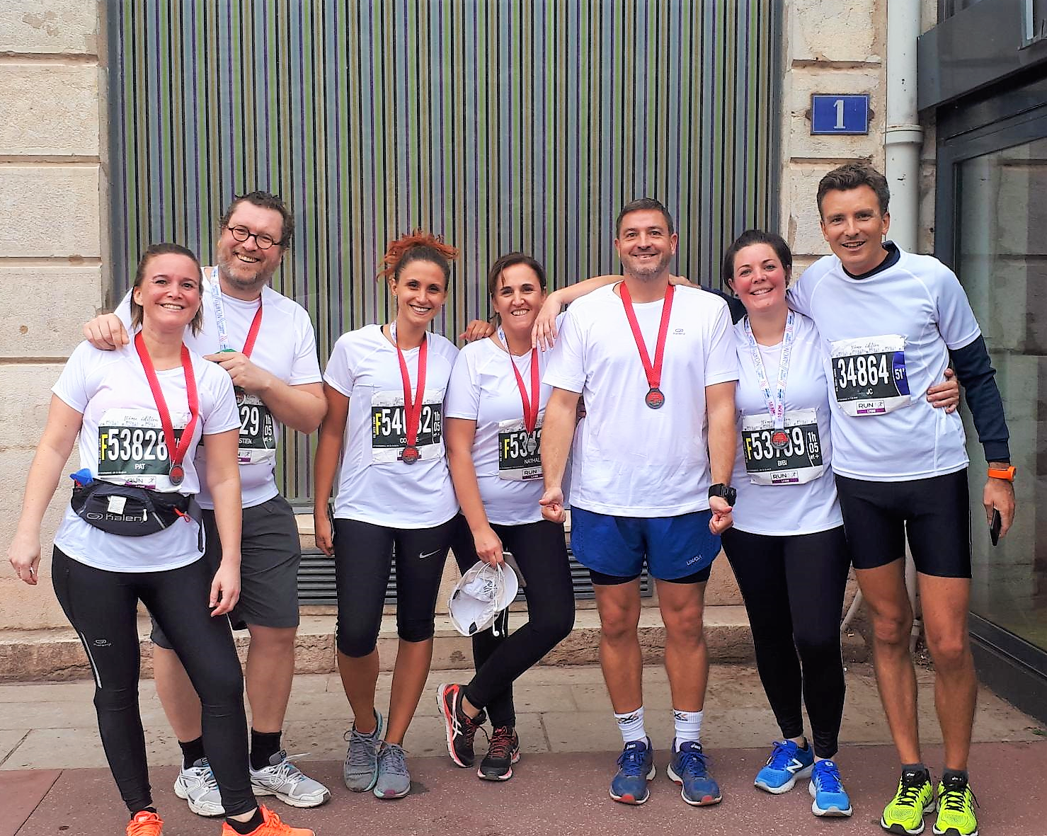 Run in Lyon, semi-marathon