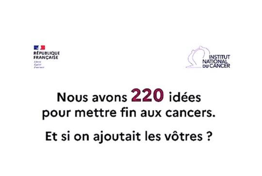 Consultation citoyenne – Stratégie décennale de lutte contre les cancers