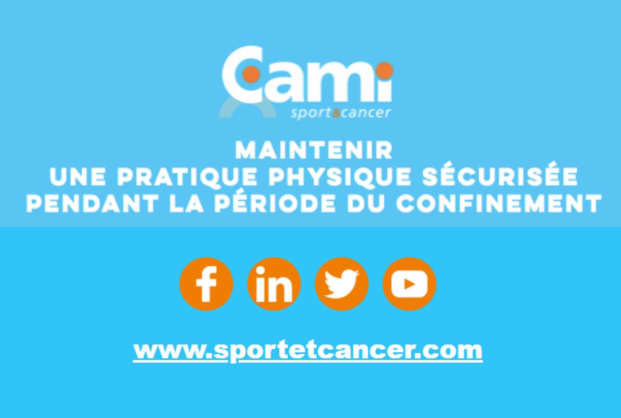 Cours de sport en ligne par la CAMI